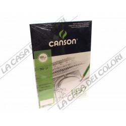 CARTA CANSON 1557 - 120 g/mq -  A4 - BLOCCO COLLATO LATO CORTO