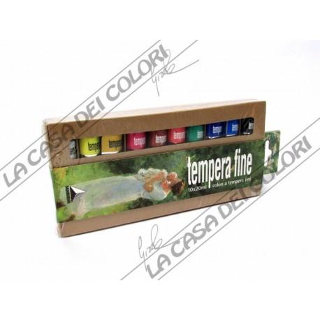 MAIMERI TEMPERA FINE - BLISTER 10 TUBI DA 20 ml
