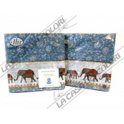 IHR - TOVAGLIOLI LUNCH - NATUME BLUE - 33x33cm - 20 PZ - L500340 - 12-07