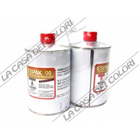 PROCHIMA - ESPAK 90 - 1 kg (500+500g) - SCHIUMA POLIURETANICA RIGIDA
