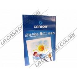 CANSON KIDS - A3 - 200 g/mq - BLOCCO 20 FG - BLOCCO DA PITTURA PER BAMBINI