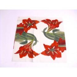 IHR - TOVAGLIOLI LUNCH - RED BEAUTY CREAM - 33x33cm - 20 PZ - L510360 - 12-18