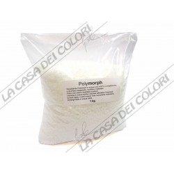 POLYMORPH - 1 kg - BIANCO - PLASTICA TERMOPLASMABILE - PLASTICA MODELLABILE