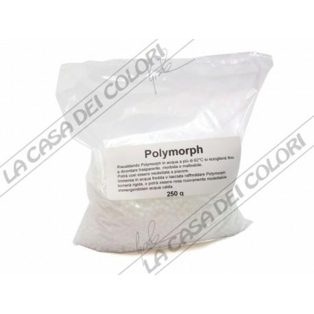 POLYMORPH - 250 g - BIANCO - PLASTICA TERMOPLASMABILE - PLASTICA MODELLABILE