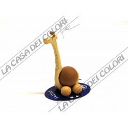 FINKBEINER - GIRAFFA SU RUOTE - 2115-1 - sfera 4cm