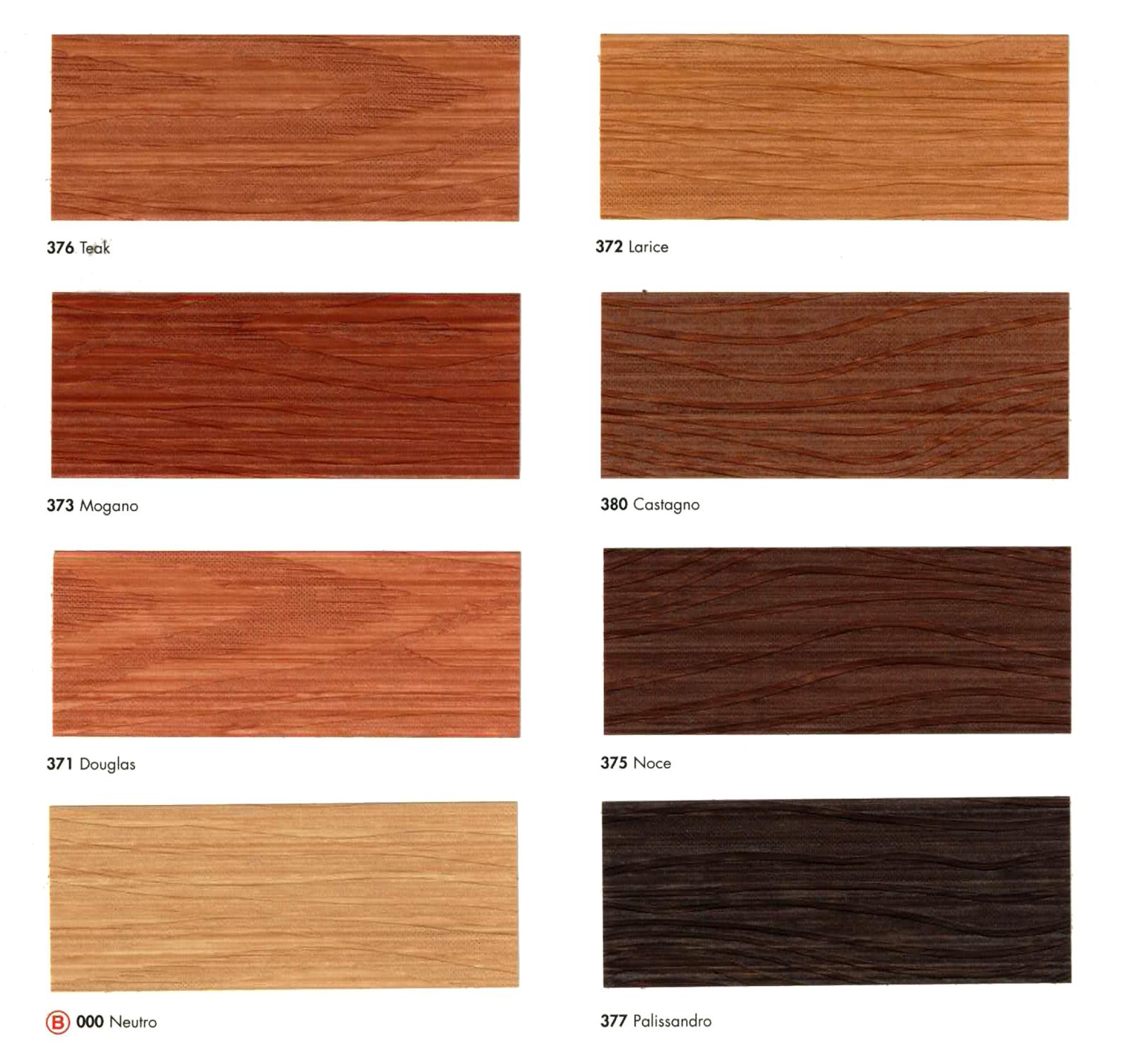 Boero biolegno 0 750 lt tinte cartella impregnante - Colori mobili legno ...